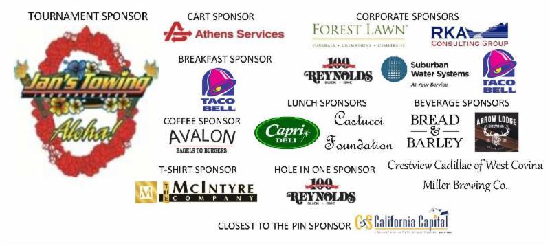 sponsors golf 2017