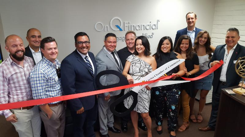 On Q Financial Ribbon Cutting