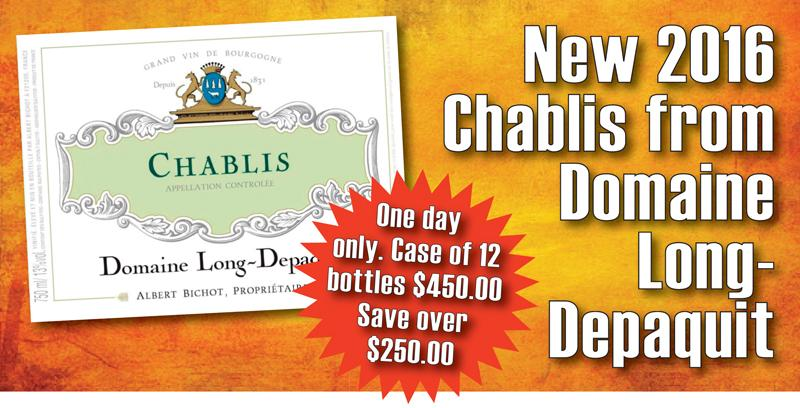 Long-Deapquit Chablis 2016 Save $250 header