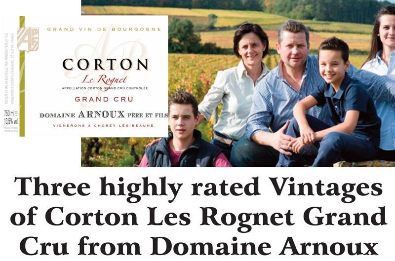 Arnoux Corton Header