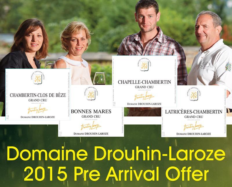 Drouhin-Laroze 2015 PA Header