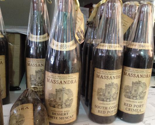 Massandra Bottles