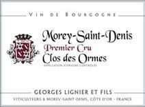 Lignier Georges Ormes Label