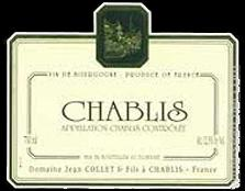 Collet Chablis Label