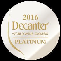 DWWA 2016 Platinum Medal