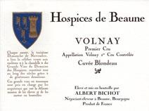 Hospices Blondeau label