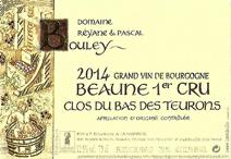 Bouley Beaune Label