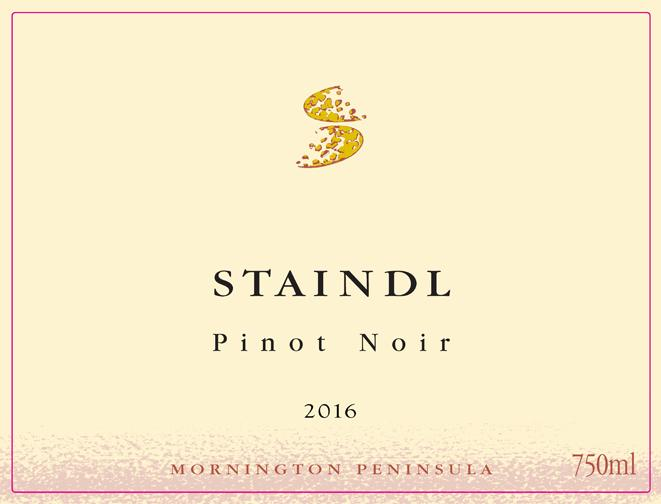 Staindl Pinot label
