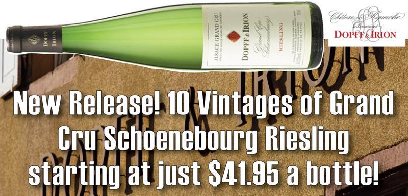 Dopff Schoenenbourg 10 Vintages Header