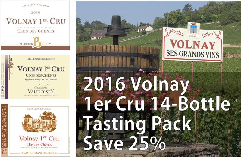 Volnay 2016 4-Bottle Pack Header