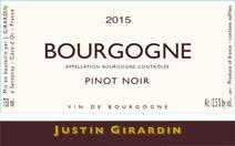 Girardin Bourgogne 2015 Label