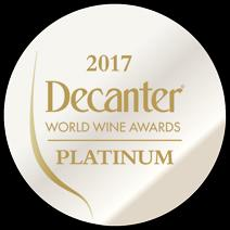 Decanter Platinum Medal 2017