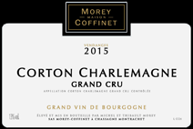 Morey-Coffinet 2015 Corton Label