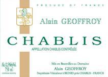 Geoffory Chablis Label