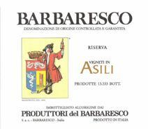 Produttori Barbaresco Asili label 2