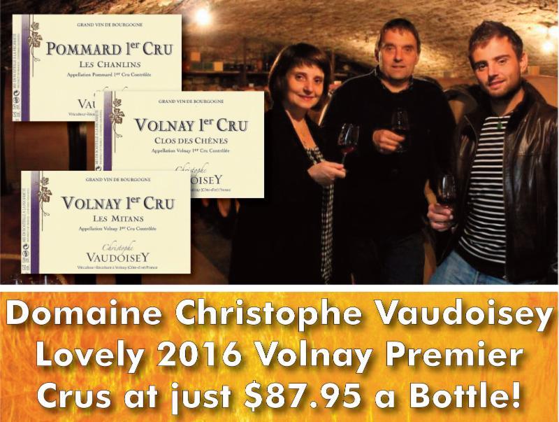 Vaudoisey 2016 1er Cru Header