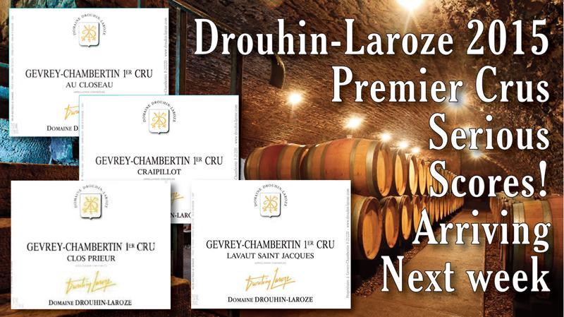 Drouhin-Laroze 2015 1er Arriving Header