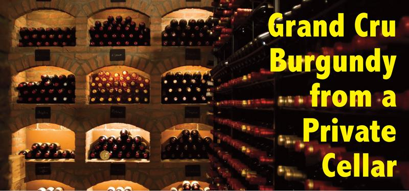 Grand Cru Burgundy Private Cellar Header