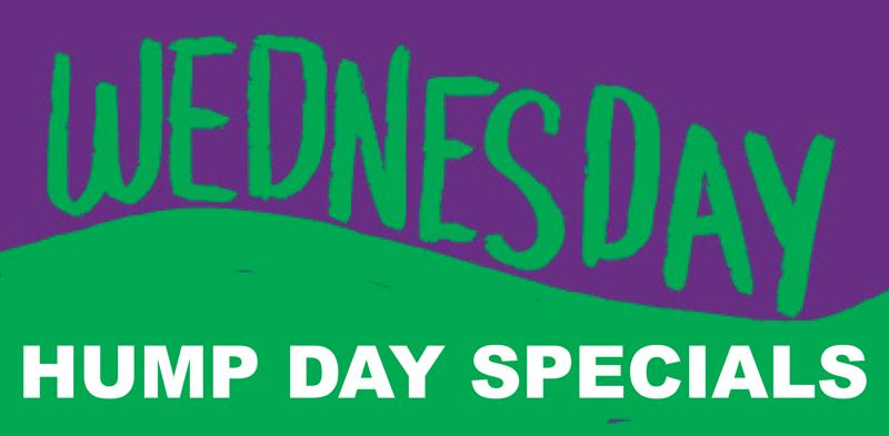 Hump Day Specials Header