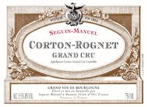 Seguin-Manuel Corton Rognets 2016