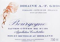 A-F Gros Hautes Cotes Label