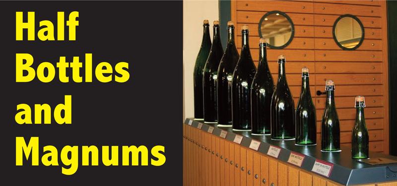 Half Bottles Magnums Header