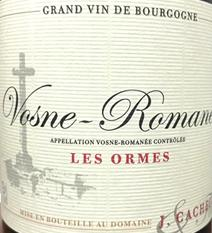 Cacheux Ormes label