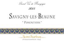 Chartron Pimentiers 2015 label