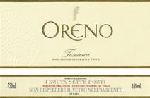 Oreno label