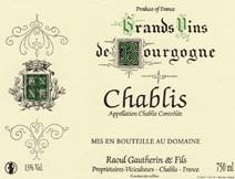 Gautherin Chablis Label