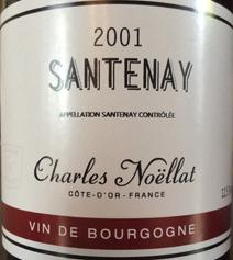 Noellat Santenay 2001