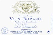fougeray beauclair vosne label