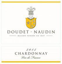 Doudet-Naudin Chardonnay Label