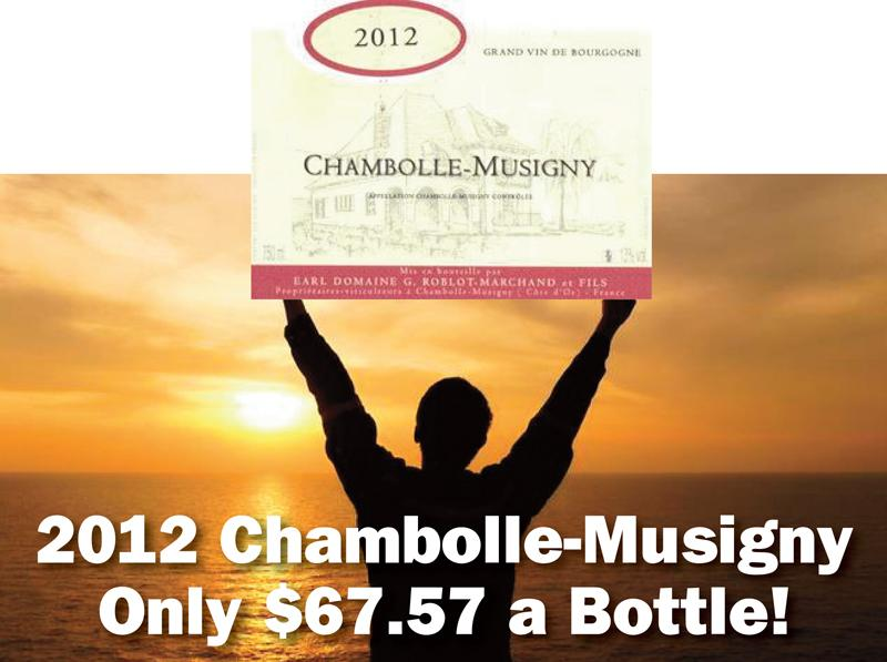Roblot-Marchand Chambolle 2012 $67.57