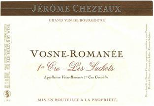 Jerome Chezeaux Suhots Label 8cm