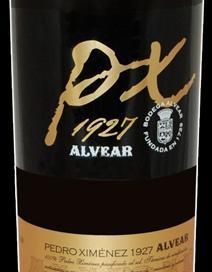 Alvear PX 1927 Bottle