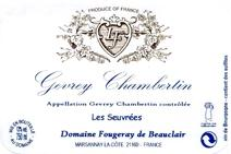 Fougeray Beauclair Gevrey label