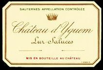 Yquem 2013 Label