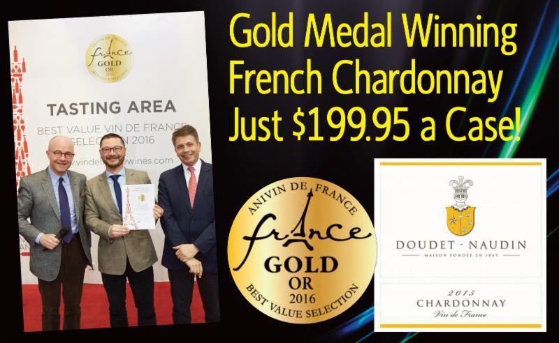 Doudet-Naudin Chardonnay 2015 Header