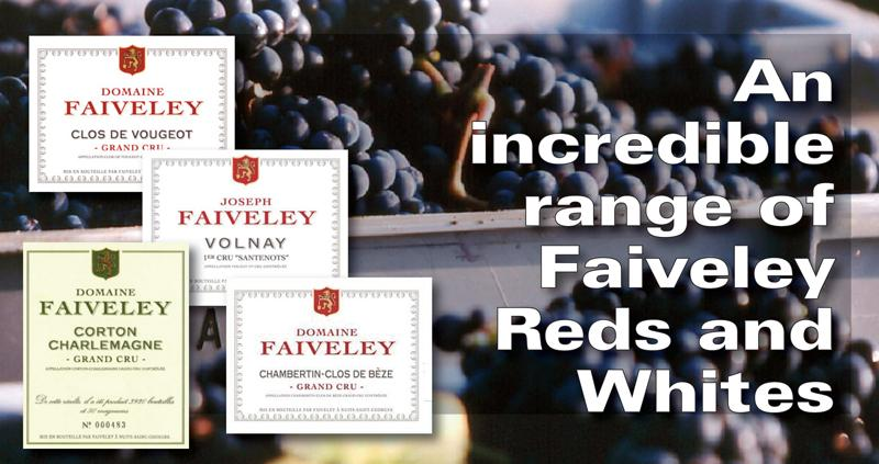 Faiveley Red and White Header