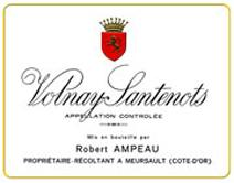 Ampeau Volnay Santenots Label