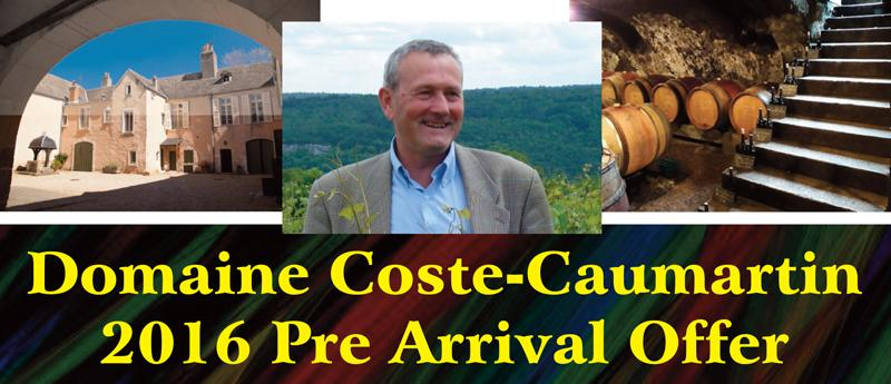 Coste-Caumartin 2016 PA Header