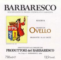 Produttori Ovello Label