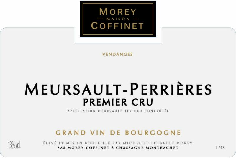 morey-coffinet Perrieres NV label