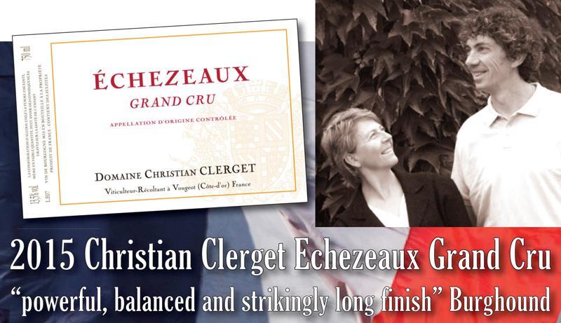 Clerget Echezeaux 2015 Header
