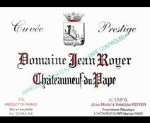 Royer Chateauneuf Prestige Label