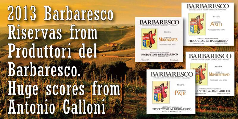 Produttori Barbaresco 2013 Header