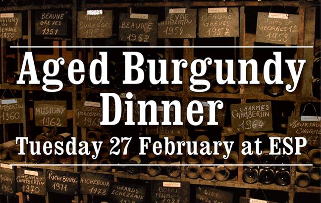 Aged Burg Dinner Header 2