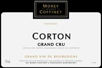 Morey-Coffinet Corton label