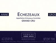 Anne Gros Echezeaux Label
